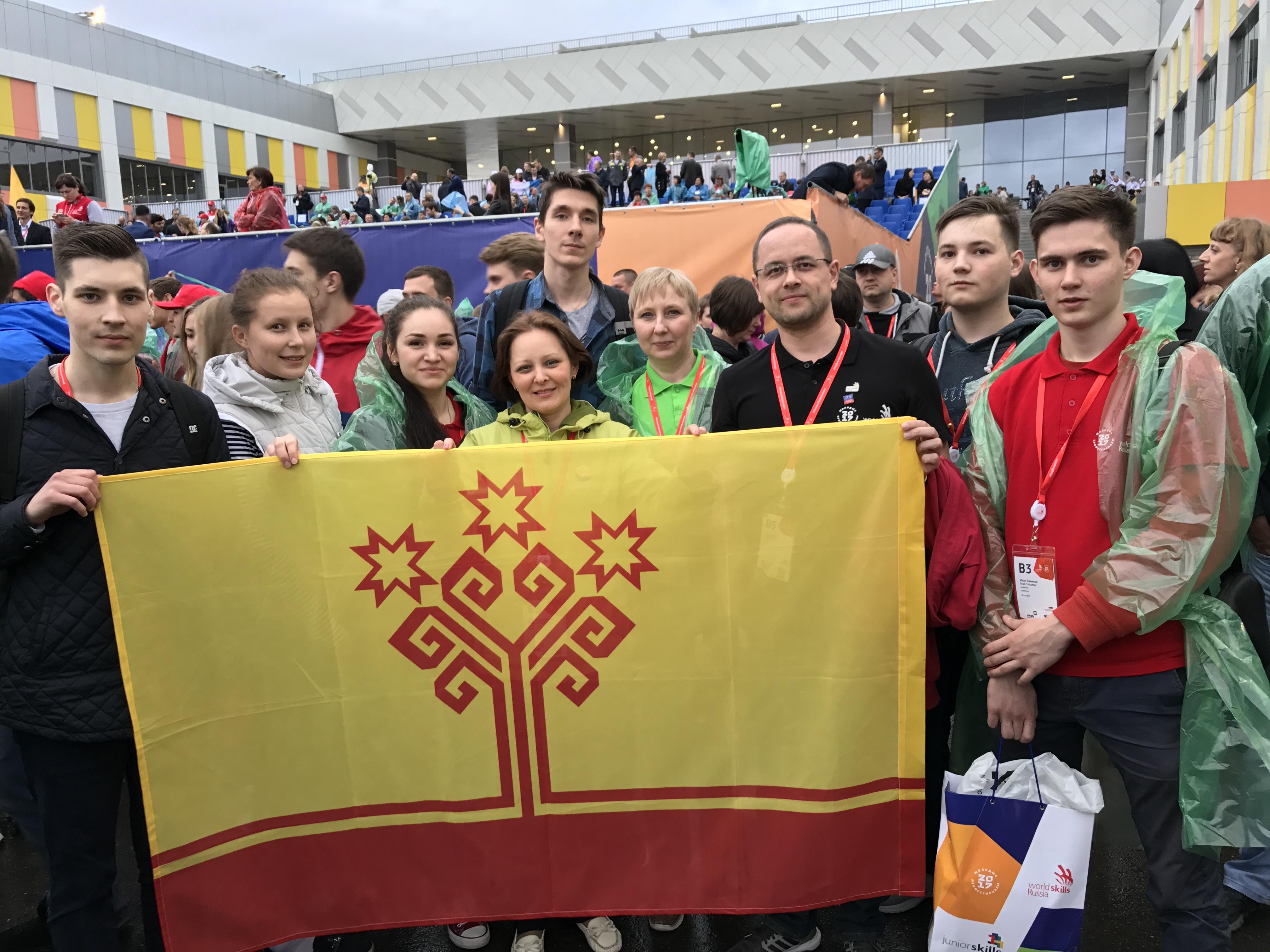 Студенты  и молодые специалисты  Чувашии подтвердили свой высокий профессионализм, завоевав шесть наград в Финале V Национального чемпионата «Молодые профессионалы» (WorldSkills Russia)