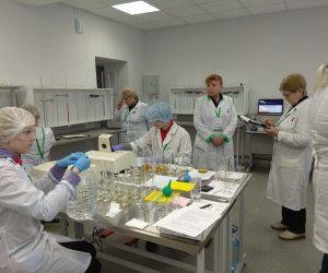 Работа конкурсных площадок: компетенция «Лабораторный химический анализ»