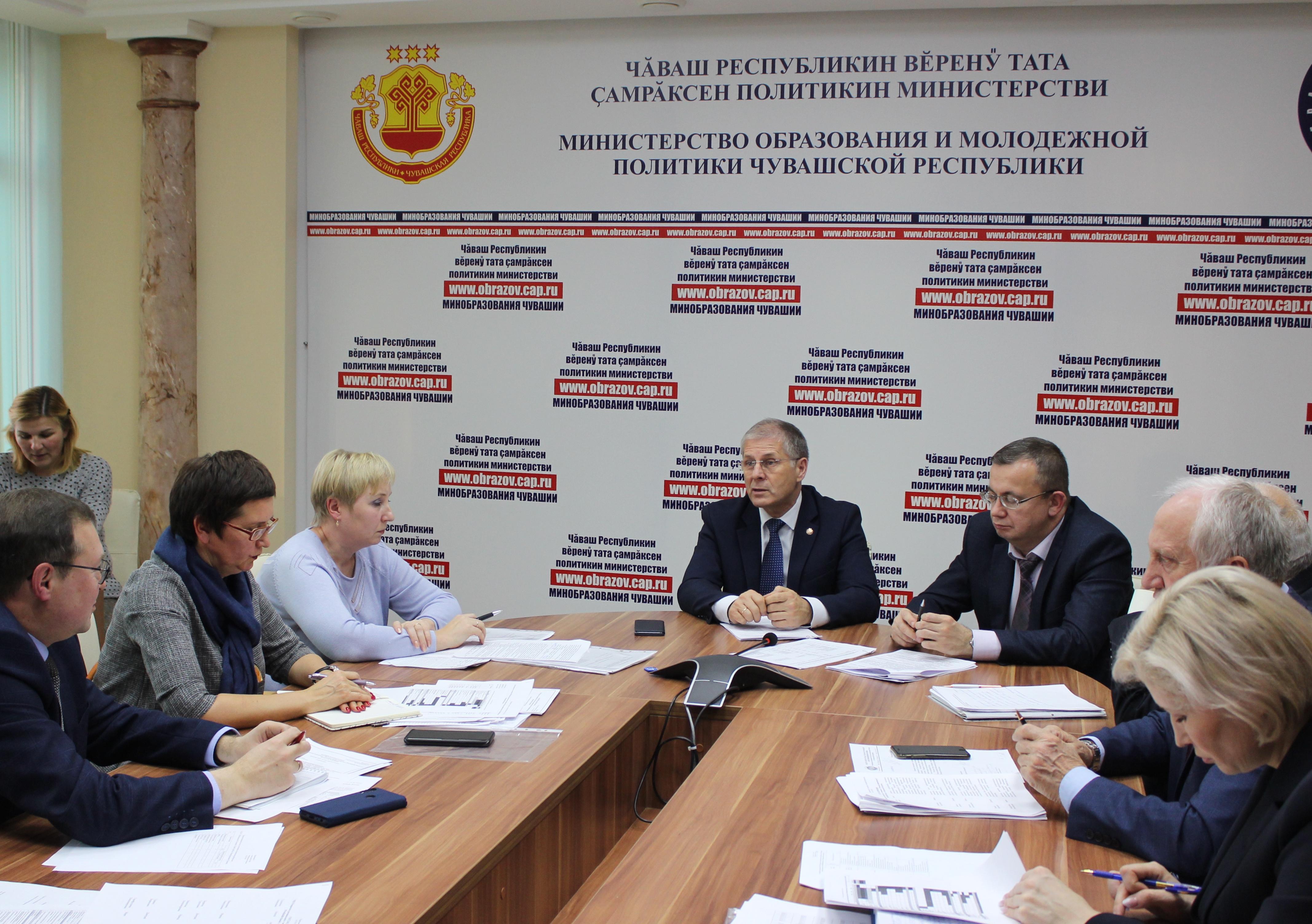 Состоялось заседание организационного комитета по проведению в республике VIII Открытого регионального чемпионата «Молодые профессионалы» (WorldSkills Russia)